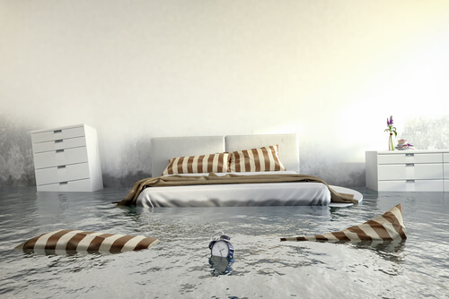 Bedroom Flooding
